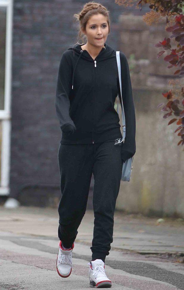 Jacqueline Jossa leaves EastEnders set in black tracksuit  - 27 May 2014