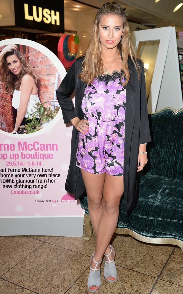 Ferne McCann Meets and Greets Customers at Sheffield's Meadow Hall as part of a Ladies Night Promtion, 29 May 2014