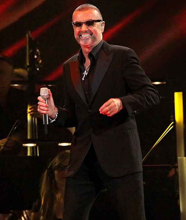 George Michael performing his Symphonica Tour at Manchester Evening News Arena Manchester, England- 21.09.12