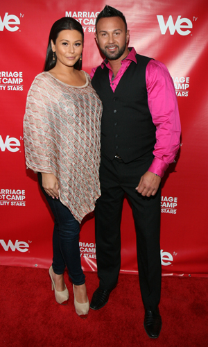 Jwoww and Roger Mathews at Marriage Boot Camp: Reality Stars Celebration held at Catch Rooftop, New York, 29 May 2014