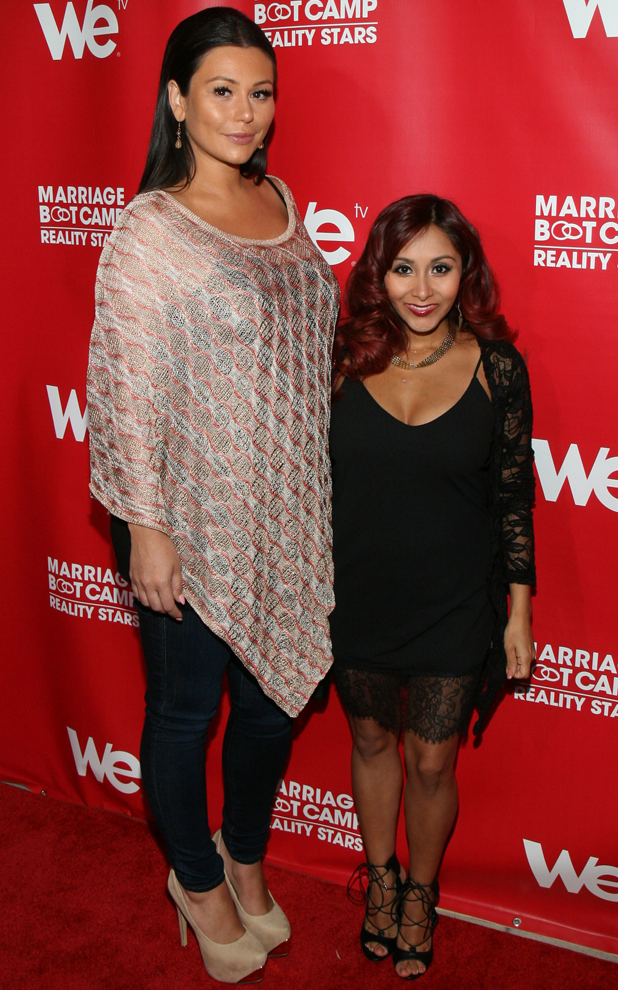 Snooki and Jwoww at Marriage Boot Camp: Reality Stars Celebration held at Catch Rooftop, 29 May 2014