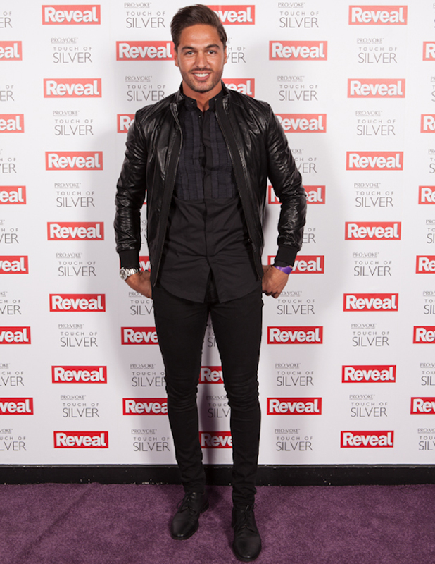 Mario Falcone at the Reveal Online Fashion Awards 2014 in London, 20 May 2014
