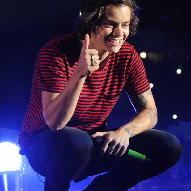 One Direction perform on their 'Where We Are Tour' at the Stadium of Light in Sunderland, 28 May 2014