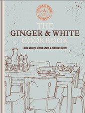 the ginger & white cookbook cover