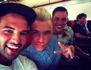 Ricky Rayment shares picture of the TOWIE cast heading to Marbella, 7 June 2014