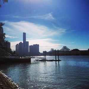 Ellie Goulding on tour in Oz, Brisbane, Instagram, 5 June