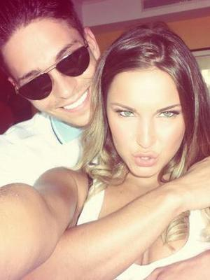 Sam Faiers shares picture with Joey Essex, 7 June 2014