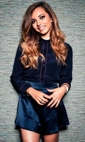 Jade Thirlwall promotes the new Little Mix lip balms and eyeshadow palette for Collection cosmetics - June 2014