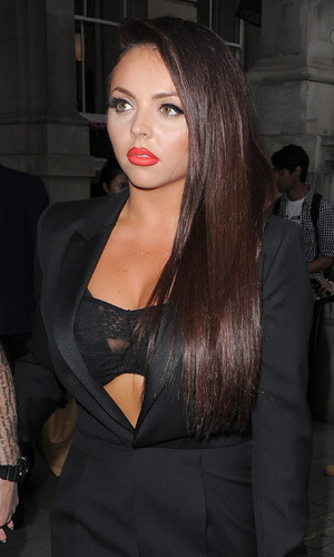 Jesy Nelson from Little Mix leaving her hotel to go to Glamour Awards, 3 June 2014