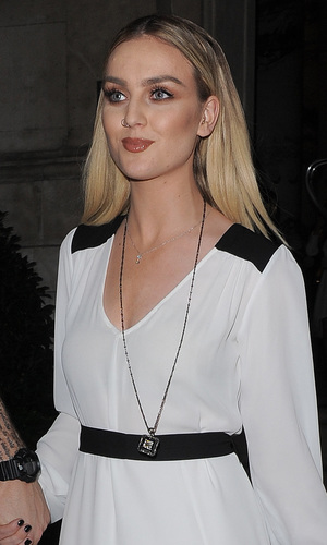 Perrie Edwards from Little Mix leaving her hotel to go to Glamour Awards, 3 June 2014
