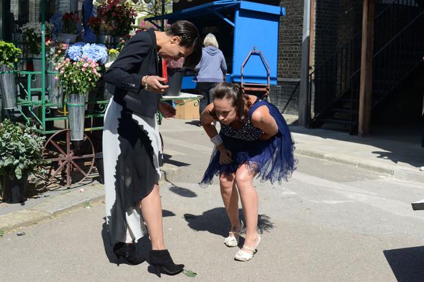 EastEnders, Tina throws up, Thu 5 Jun