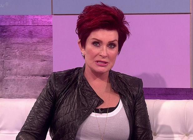 Guest panellist Sharon Osbourne joins the 'Loose Women', Shown on ITV1 - 4 June 2014