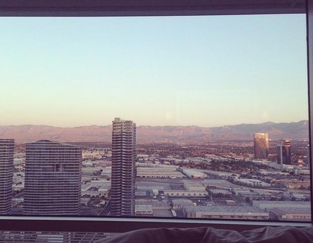 Danielle Lloyd hits Vegas for 30th, Instagram - 5 June