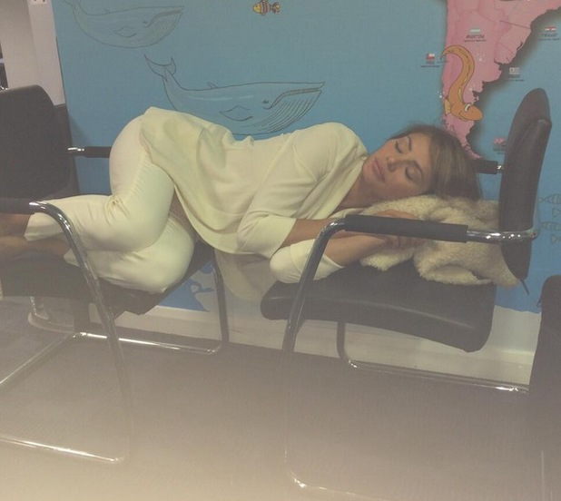 Chloe Sims takes a Nap to promote Sleeping Beauty DVD, Twitter, 2 June
