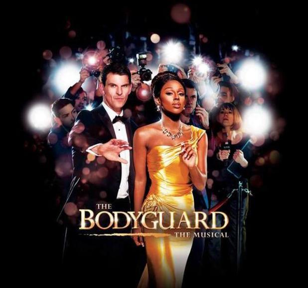 Alexandra Burke - poster for The Bodyguard Musical - June 2014.