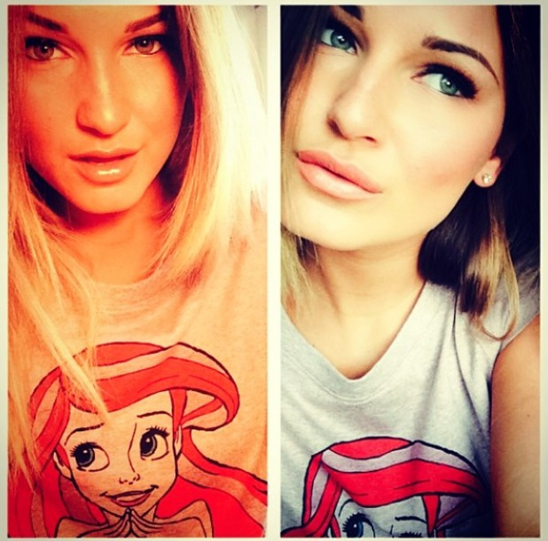 Sam Faiers gives run down of her make-up, 2 June 2014