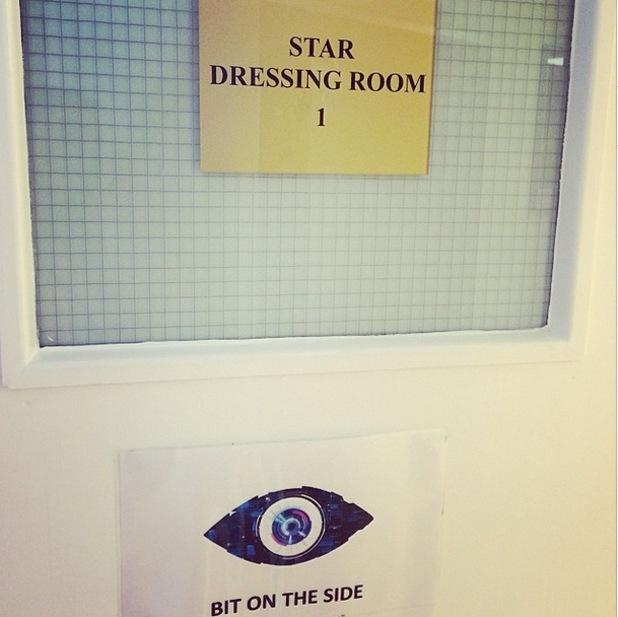 Luisa Zissman posts snap of Big Brother dressing room ahead of launch - Elstree, 3 June