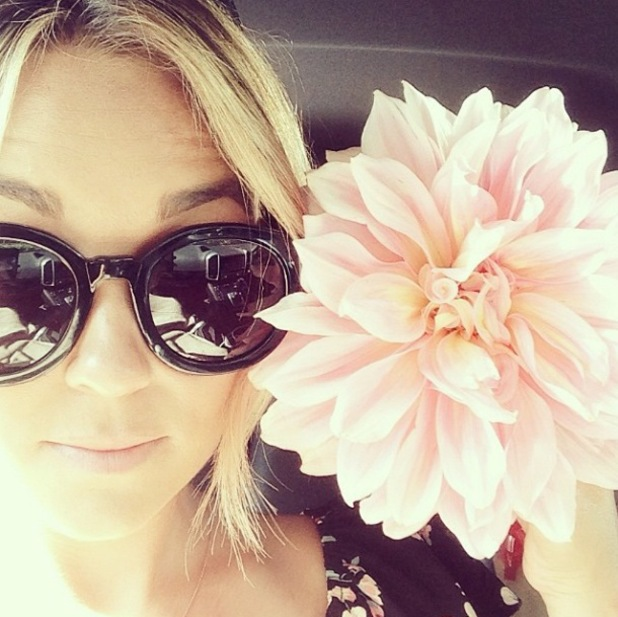 The Hills' Lauren Conrad shares pictures of her garden and her dog eating carrots - 2 June 2014