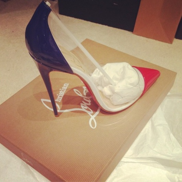 Billie Faiers shows off her new Christian Louboutin heels purchase - 6 June 2014