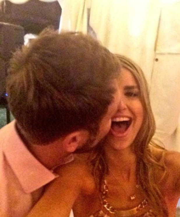 Vogue Williams and Brian McFadden on Twitter