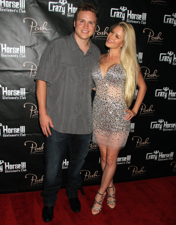 HEIDI MONTAG Hosts Spencer Pratt's 30th Birthday Celebration At Carzy Horse III In Las Vegas, NV on 8/31/13