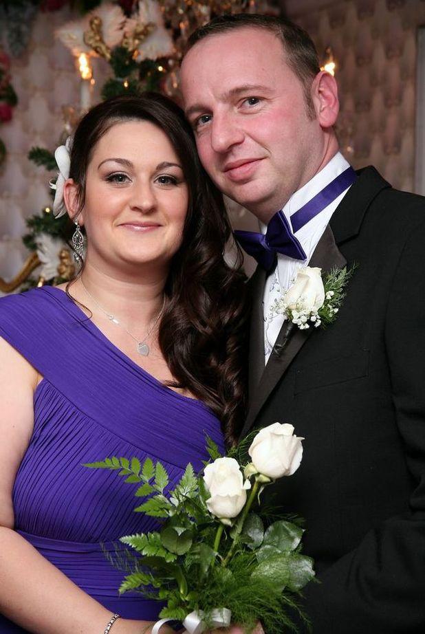 Nicola Richardson and ex-husband Wayne Scott who raped her