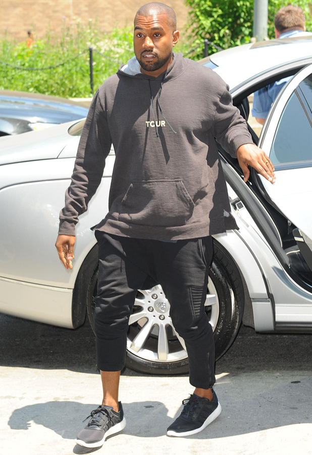 Kanye West Pictured Wearing Wedding Ring In New York