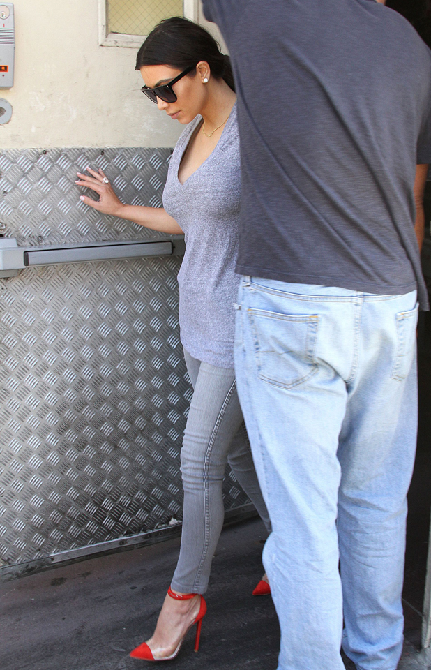 Kim Kardashian out and about, Los Angeles, America - 05 Jun 2014