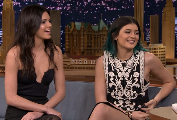 Kendall and Kylie Jenner appear on the Tonight Show starring Jimmy Fallon, 4 June 2014
