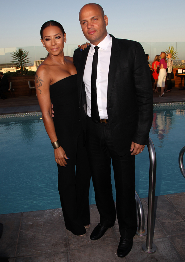 Mel B and Stephen Belafonte at Los Angeles Confidential Magazine 'Women Of Influence' issue, 4 June 2014