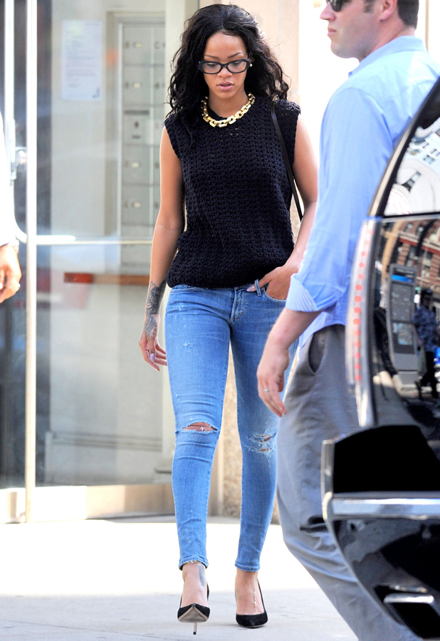 Rihanna out and about, New York, America - 02 Jun 2014