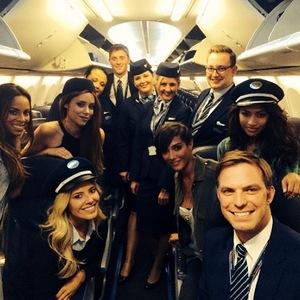 The Saturdays turn pilots, Instagram, 7 June