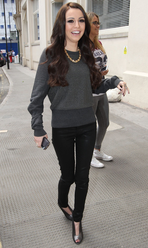 Cher Lloyd out and about in London, Britain - 11 Jun 2014