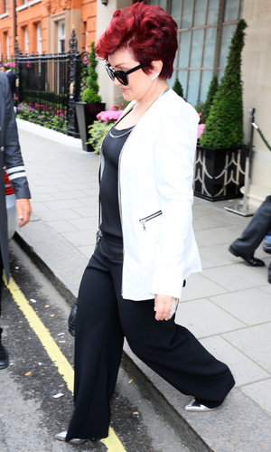 Sharon Osbourne spotted in Covent Garden, MAC collection, London, 9 June