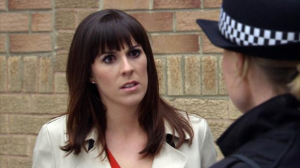 Emmerdale, Donna goes to the crime scene, Mon 16 Jun