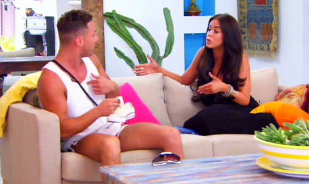 Ex On The Beach, Vicky Pattison and Ricci Guarnaccio, MTV, 10 June
