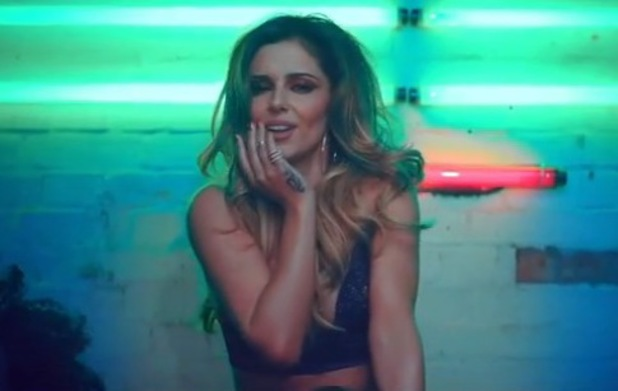 Cheryl Cole appears in new video for 'Crazy Stupid Love' - 10 June 2014