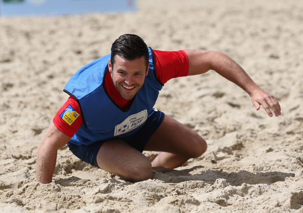 Mark Wright teams up with the FA to encourage people to play football - 9 June 2014