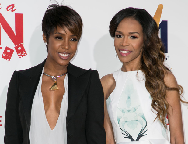 Destiny's Child, Kelly Rowland and Michelle Williams, 'Think Like A Man Too' premier, Hollywood, 9 June
