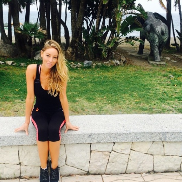 TOWIE's Lauren Pope goes for a run in Marbella - 11 June 2014