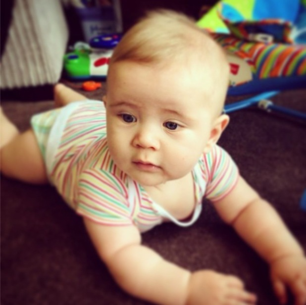 TOWIE's Dan Osborne shares picture of his son Teddy while missing him in Marbs - 12 June 2014