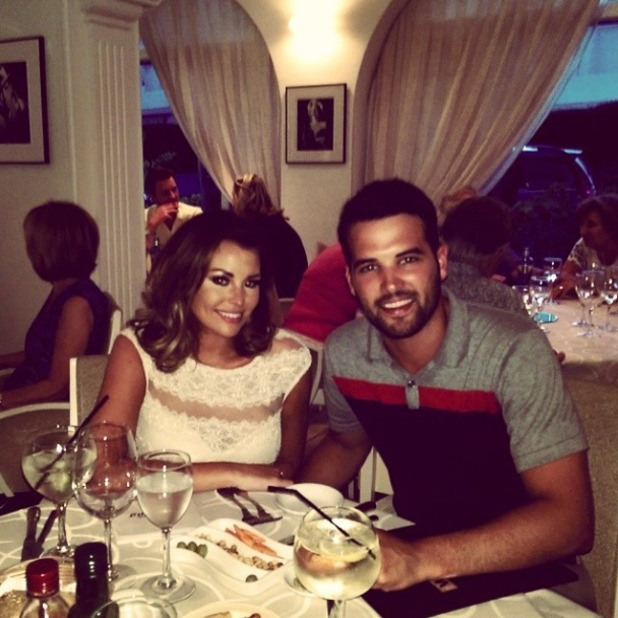 TOWIE's Ricky Rayment and Jessica Wright enjoy downtime together in Marbella, 14 June 2014