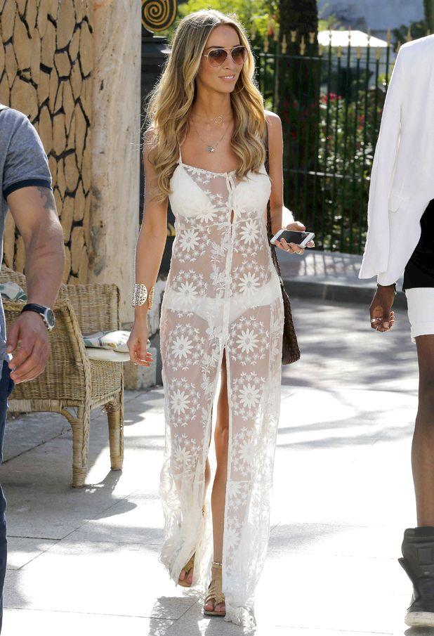 TOWIE's Lauren Pope steps out in Marbella, Spain - 9 June 2014