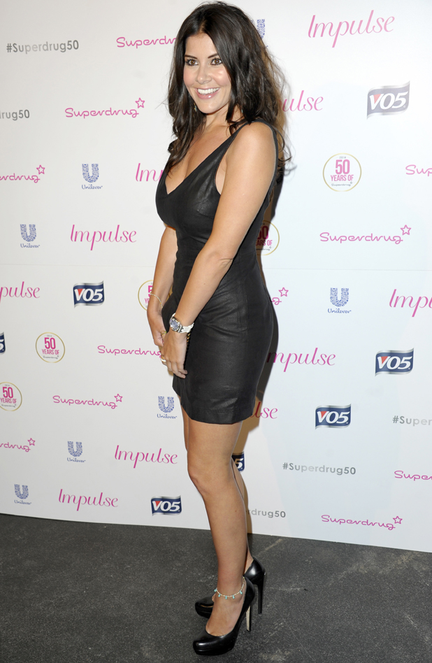 Imogen Thomas, Superdrug - 50th birthday party held at the Bankside Vault, London, 10 June 2014