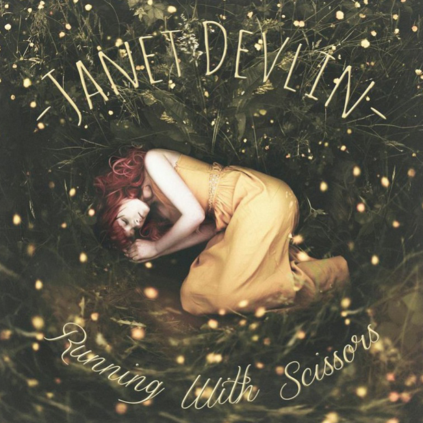 Janet Devlin's debut album cover Running With Scissors, released 9 June 2014