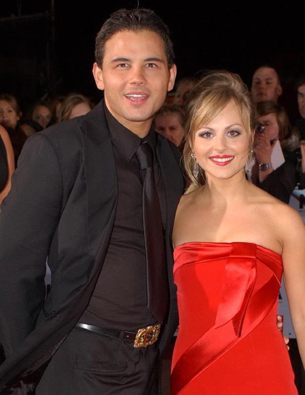 Tina O'Brien and Ryan Thomas, National Television Awards 2006 held at the Royal Albert Hall London, England - 31.10.06
