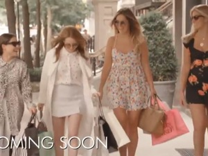 Made In Chelsea's Cheska Hull, Fran-Newman Young, Rosie Fortescue and Louise Thompson in New York teaser (17 June).
