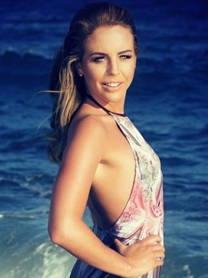 TOWIE's Lydia Bright poses in swimsuit in new Marbs promo shot - 20 June 2014