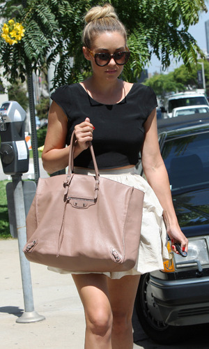 Lauren Conrad spotted out for lunch in West Hollywood - 18 June 2014