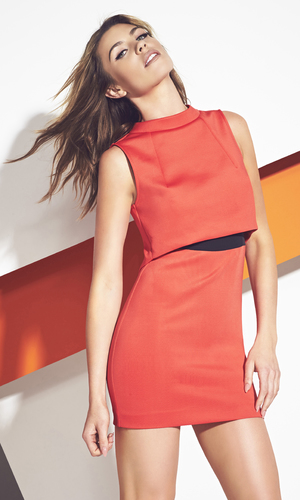 Abbey Clancy models her new collection for Matalan
